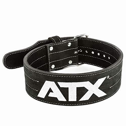 ATX® Power Belt - Veloursleder - schwarz - Größen S - XXL (M)