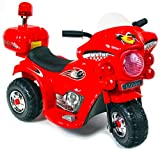 Kinder Elektro Motorrad Elektrofahrzeug Kindermotorrad Elektromotorrad Spielzeug Bike für draußen ab 3 mit Akku und Sound 6V Motor