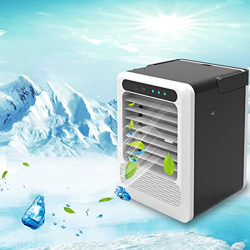 Ao Ma Shang Mao New Home Air Cooler Office Dormitory Portable Small Air Conditioning Usb Small Fan, Air Cooler Desktop Fan Cooling With Portable Handle, Suitable For Home Office - Home-air