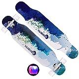GXDHUABAN Skateboard Longboard Completo Professionale a Discesa Rapida con Buone capacità di Presa for Skateboard e Regali di Compleanno for Bambini all'aperto (Color : D)