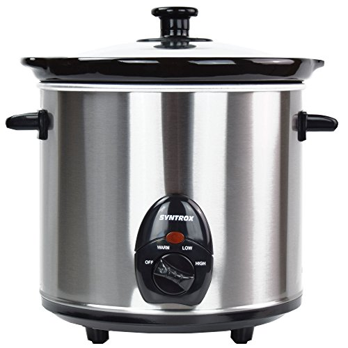 Syntrox Germany 3,0 l Slow Chef SC-300M Deli Schongarer - 2
