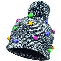 Buff Kinder Child Knitted und Polar Mütze