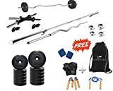 #8: Protoner 50 Kg PVC Home Gym Set with Rods.