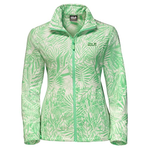 Jack Wolfskin Kiruna Jungle Women, Damen, Spring Green All Over, X-Large