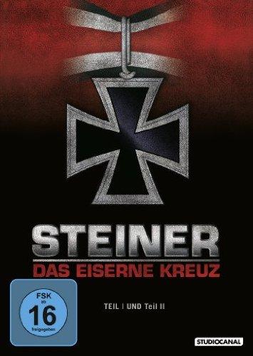Steiner – Das Eiserne Kreuz, Teil I und Teil II [2 DVDs]