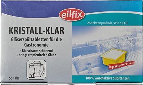 Kristall-Klar Gläserspültabletten, 56 x 10 g -