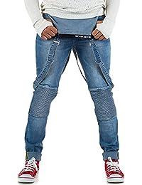Jeans Jeanshose Used 36 Blau Hosenträger Schuhcity24 Herren