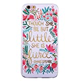 iPhone 6S Case,iPhone 6 Case, ZQ-Link Ultra Slim Soft TPU Case Skin Cover Protective Bumper Case for Apple iPhone 6/6S Inspirational Quotes Design (4.7 inch ONLY)