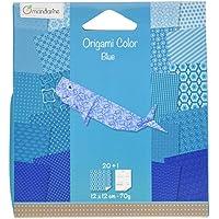 Avenue Mandarine - Carta per origami, Blu