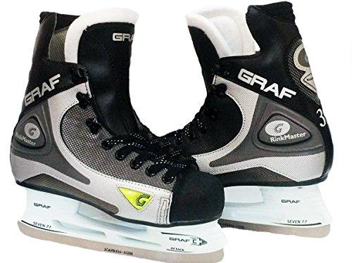 Hockey - Skates Rinkmaster 101 Männer schwarz Größe 40