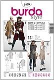 Burda Schnittmuster 2459 Pirat & Casanova Gr. 46-58