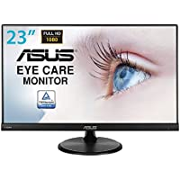"ASUS VC239HE - Monitor Full HD de 23"" (1920 x 1080 píxeles, IPS, 16:9, sin Marco, Flicker Free, HDMI, 5 ms), Color Negro"