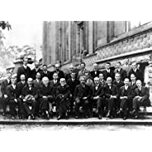 1927 Solvay Conference on Quantum Mechanics Physics Albert Einstein Marie Curie Poster Photo Historical Posters 12x18 by Perfect Posters and Pics