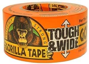 "Gorilla Glue Brand Gorilla Tape 2.88"" Wide 30 Yard Roll by Gorilla Glue (English Manual)"