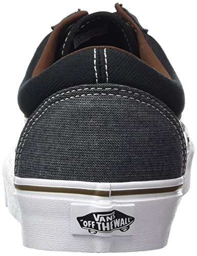 Vans U Old Skool, Baskets mode Homme Noir (T/h)