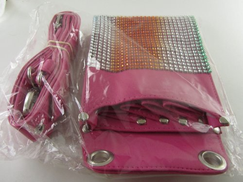 Scissors Plus Barber Scissors Shears Holder Holster Leather Bag Hairstylist Toolkit Pink Color