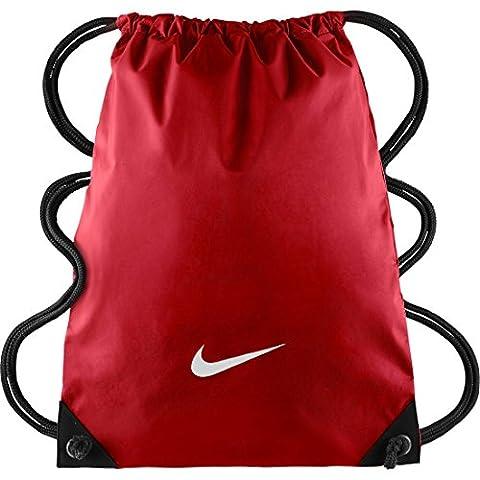Nike Herren Fundamentals Swoosh Gymsack Einheitsgröße University Red/University Red/White