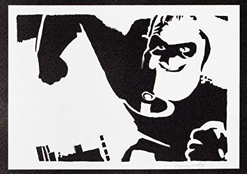 Poster Mister Increible Grafiti Hecho A Mano - Handmade