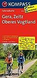 Gera - Zeitz - Oberes Vogtland: Fahrradkarte. GPS-genau. 1:70000