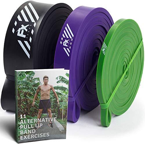 Bande elastiche di resistenza set tirare su pull up - fasce elastiche fitness energia sollevamento crossfit ginnastica - perfette per pesi forza di base agilità mobilità e altri tipi di allenamento
