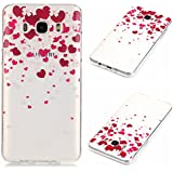 Uming® Pattern Print Imprimir patrón caso de TPU Case Cover ( Transparent Love Hearts - para Huawei Ascend P9Lite ) shell suave colorido cubierta Shell protector del teléfono móvil de la célula