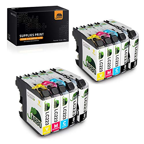 JARBO LC223 Patronen Kompatibel für Brother LC-223 LC223 XL Druckerpatronen für Brother MFC-J5320DW MFC-J5620DW MFC-J5720DW DCP-J562DW DCP-J4120DW MFC-J4420DW MFC-J4620DW MFC-J480DW J680DW, 10er-Pack