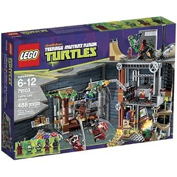 LEGO Teenage Mutant Ninja Turtles Attack on the Lair of the Turtles ...