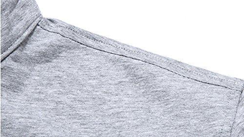 Herren Poloshirt Einfarbig 4 Größen Weiß