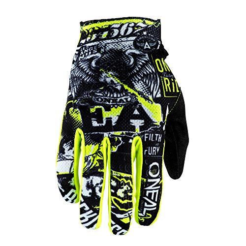 O'Neal Matrix Attack Youth Kinder MX DH FR Handschuhe schwarz/gelb 2020 Oneal: Größe: M (5)