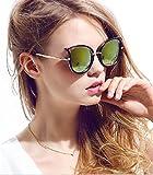 Diamond Candy–Gafas de sol polarizadas con protección UV, de mujer, UV400 amarillo amarillo Talla única