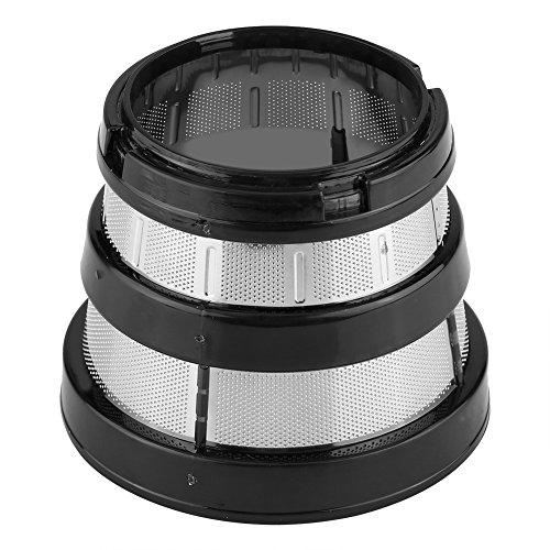 Entsafter Filter, Langsam Entsafter Feinmasch Siebfilter Filter Kleine Loch für Hurom HH-SBF11 HU-19SGM Teile Filterkorb