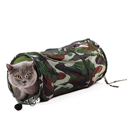 YongYeYaoBEN Neue Katze Tunnel Spielzeug Haustierzimmer Pop Up Tunnel Multi Arten Katze kreative Spaß (Spa Multi)