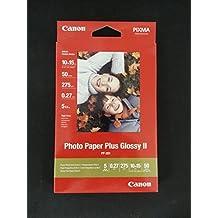 Canon Papel fotográfico, 100hojas 10x 15, brillante, Glossy Photo Paper Everyday 210g, A610x 15, gp501