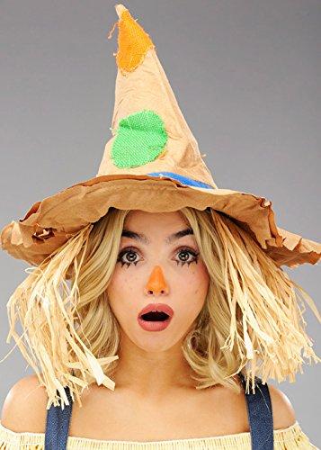 Erwachsene Vogelscheuche Kostüm Hut