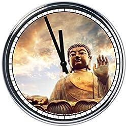 Reloj de pared Buda 2