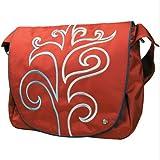 Krusell Radical Wave Messenger Bag (Red)