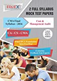 CMA Final Cost & Management Audit Mock Test Papers