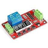 GEREE 18 types de fonctions en un seul module DC 12 V PLC Relais de temporisation multifonction Module domotique Delay