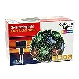 Bid Buy Direct® Solarbetriebene Lichterkette–4,5m mit 20LED Indoor/Outdoor Wasserdicht Solar Dekoration Lichter schmetterling