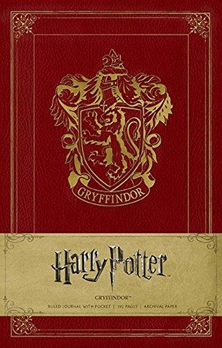 Harry Potter Gryffindor Hardcover Ruled Journal: Gryffindor