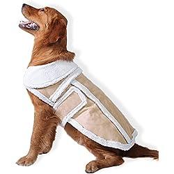 PETCUTE Perro Invierno Abrigo Caliente Capa Ropa Frío Tiempo Para Mascotas Adorable Suave Abrigo de Lana Regalo de Halloween de Navidad