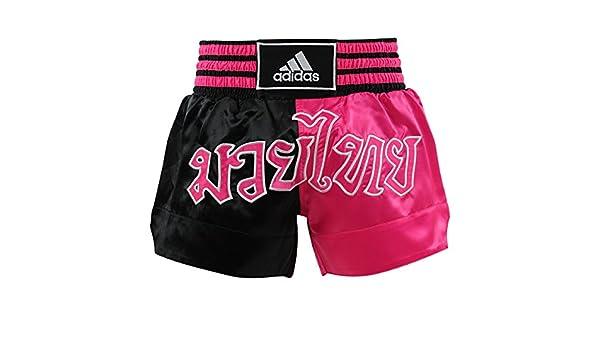 adidas Short Boxe thaï NoirRose ADISTH03 NoirRose, XS