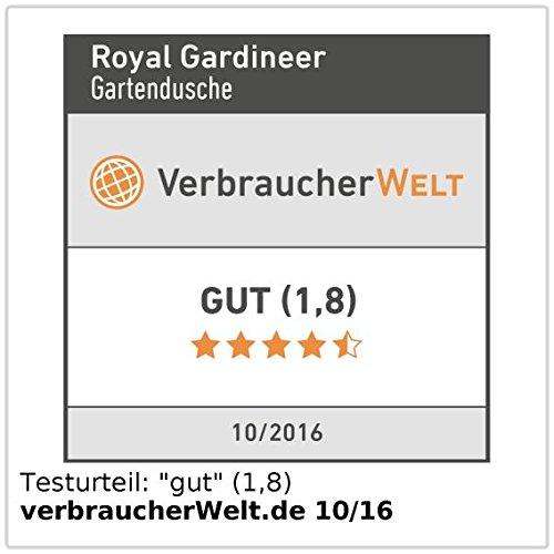 Royal Gardineer Gartendusche 3in1 im Test