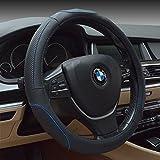 HCMAX Fahrzeug Lenkradabdeckung Auto Lenkradschutz Universal Durchmesser 38cm (15