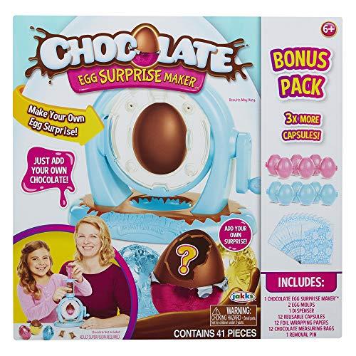 Jakks 61912 Pacific Schokoladeneier mit Extra-Pack, Mehrfarbig