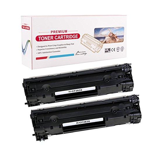 Radtek Cf283X Crg-737Compatible Cartouche de toner pour Canon I-Sensys Mf210MF211MF212W/MF216N MF217W MF226dn Mf232W Mf244dw Mf249dw Lbp151dw Series, HP LaserJet Pro MFP M225M201M202N M202dw Series | 2400pages Noir