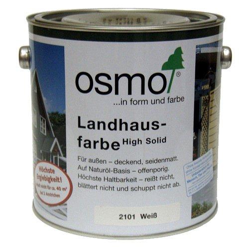 OSMO Landhausfarbe 2,5 Liter Steingrau 2704