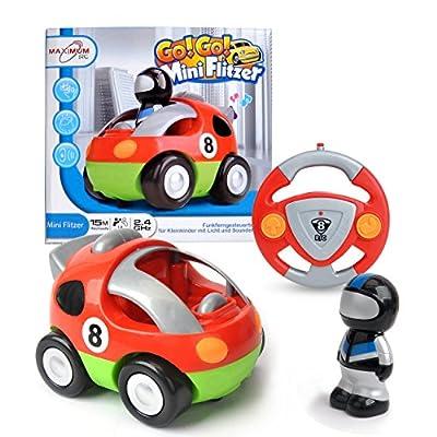 Maximum RC - RC Auto für Kleinkinder - abschaltbare Sound- und Musikeffekte - RC Auto für Kinder ab 3 Jahren von Maximum RC