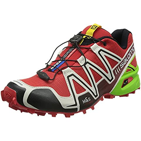 Salomon Speedcross 3, Zapatillas de Trail Running para Hombre