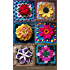 A Crochet Country Garden: 6 elegant high-relief floral afghan blocks to crochet